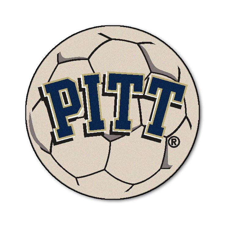 "University of Pittsburgh Soccer Ball - For all those soccer fans out there: soccer ball-shaped area rugs by FANMATS. Made in U.S.A. 100% nylon carpet and non-skid recycled vinyl backing. Machine washable. Officially licensed. Chromojet printed in true team colors.FANMATS Series: SOCCBALTeam Series: University of PittsburghProduct Dimensions: 27"" diameterShipping Dimensions: 27""x14""x0.5"". Gifts > Licensed Gifts > Ncaa > All Colleges > University Of Pittsburgh. Weight: 1.70"