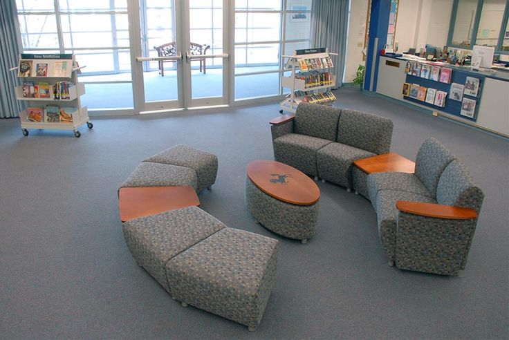 Library furniture of my dreams.