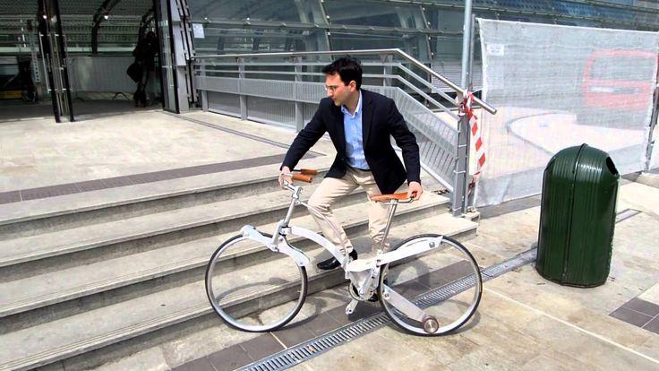 Sada Gianluca - Hubless Foldable Sada Bike - Eurobike