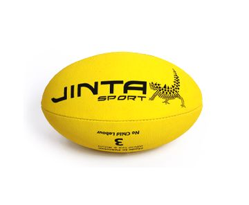 Football - Aussie Rules Ball Size 3. 'All-weather, high-grip surface means year-round play. Certified fairtrade, the purchase of these balls also helps fund community develop projects in third world countries AND sports programs for Aboriginal children in Australia.' #fairtrade #aussierules #football #ballsforgood
