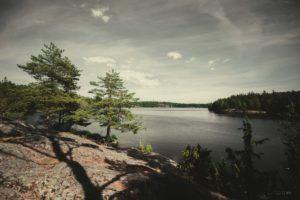 Tyresö #Lake near #Tyresta national park in #Sweden.