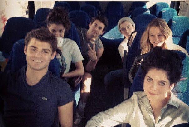 """Teen Beach Movie"" Cast Together November 9, 2013"