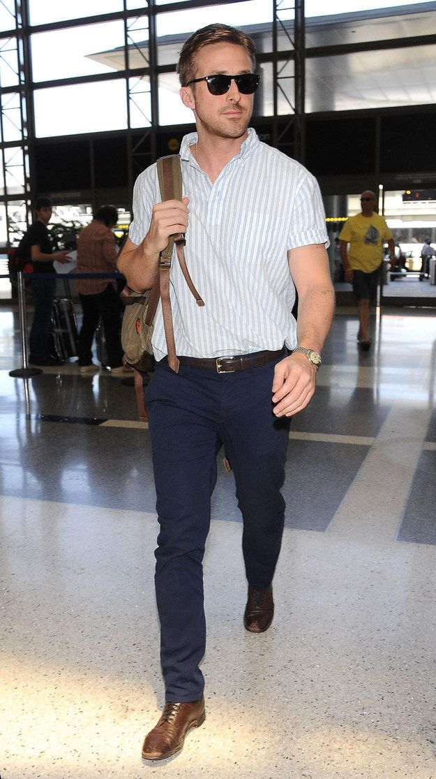 So with that in mind, please plan your weekend accordingly. | Ryan Gosling Emerges, Hops On A Plane To Cannes