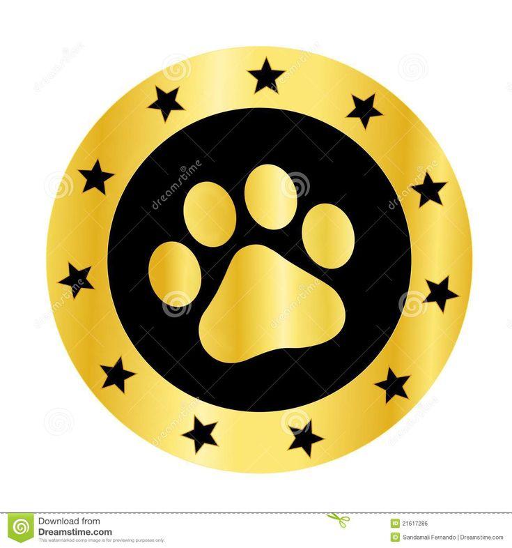 Red dog paw logo - photo#53