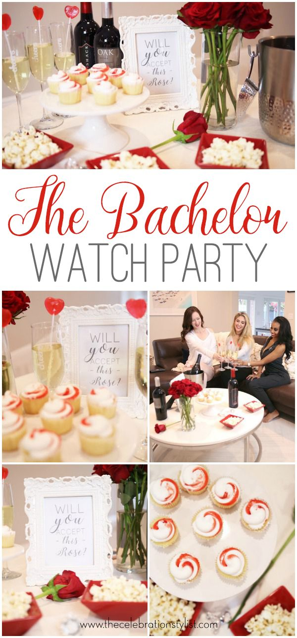 ABC's The Bachelor TV Show Finale Watch Party. Will you accept this rose?