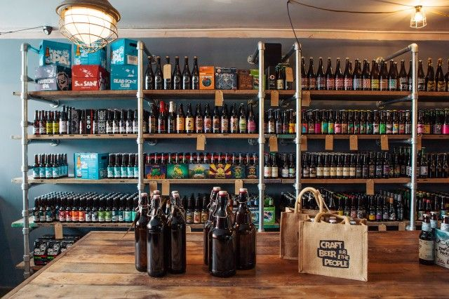 BrewDog opens first craft beer shop
