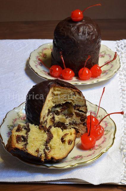 Panettone ripieno al cioccolato - ricetta velocissima