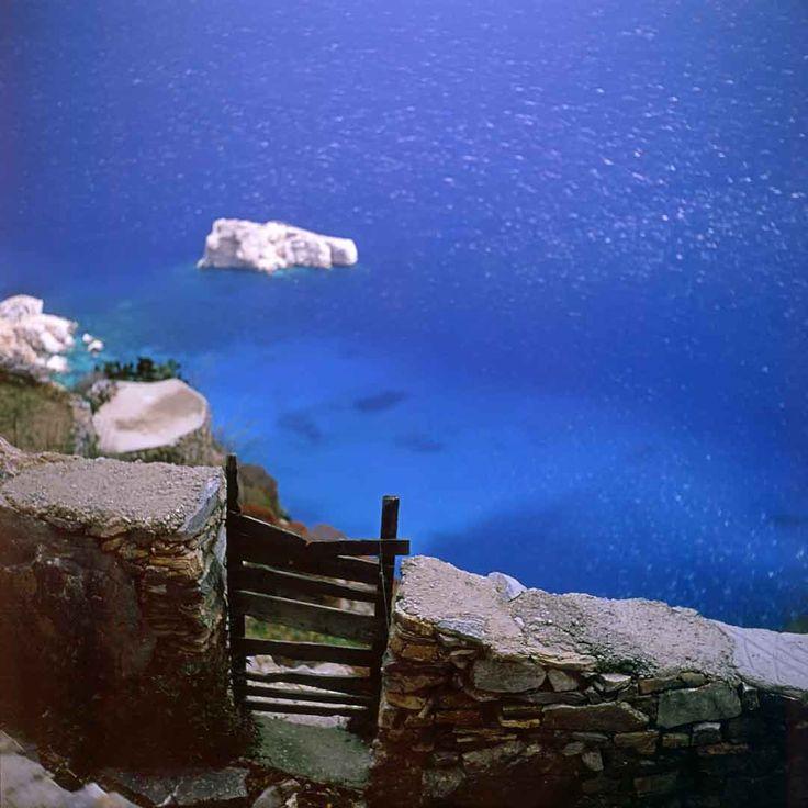 Gate against Sea #3, Amorgos, Greece, 2002