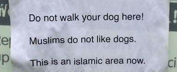 Muzułmanie w Europie wypowiadają wojnę psom