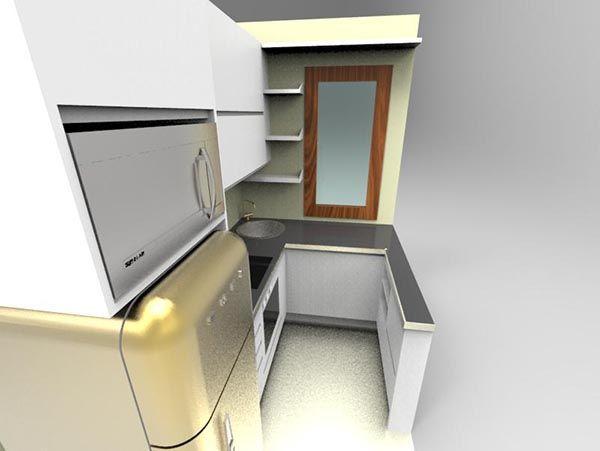 Cucina su misura con frigo smeg librerie su misura in legno pinterest cucina - Cucine con frigo smeg ...