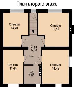 Проект дома К 01023 - планы
