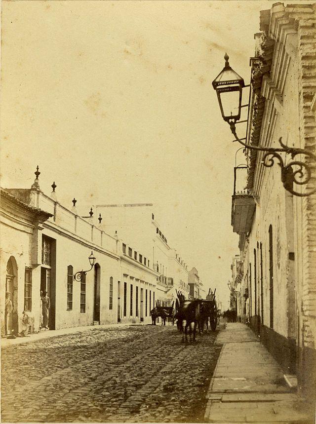 Calle de la Piedad (Gonnet, 1864) - Category:Calle Bartolomé Mitre, Buenos Aires - Wikimedia Commons