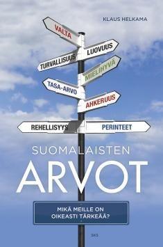 Suomalaisten arvot kertoo, mitkä arvot kuuluvat suomalaisten omakuvaan ja vastaavatko ne yksilöiden arvoja ja toimintaa. Teoksessa pohditaan myös, miten ihmisen ikä ja koulutus muuttavat arvoja ja miten arvomaailma vaikuttaa maiden kilpailukykyyn. Professori Klaus Helkama on Suomen keskeisimpiä arvotutkijoita. Hänen uransa on tuottanut runsaasti paitsi tieteellistä tietoa myös omakohtaisia kokemuksia kulttuurien arvoeroista.