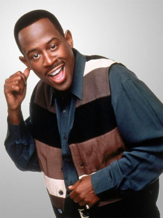 Martin Lawrence ~ I had the BIGGEST crush on him back in the day :)...something about the ears & that smile