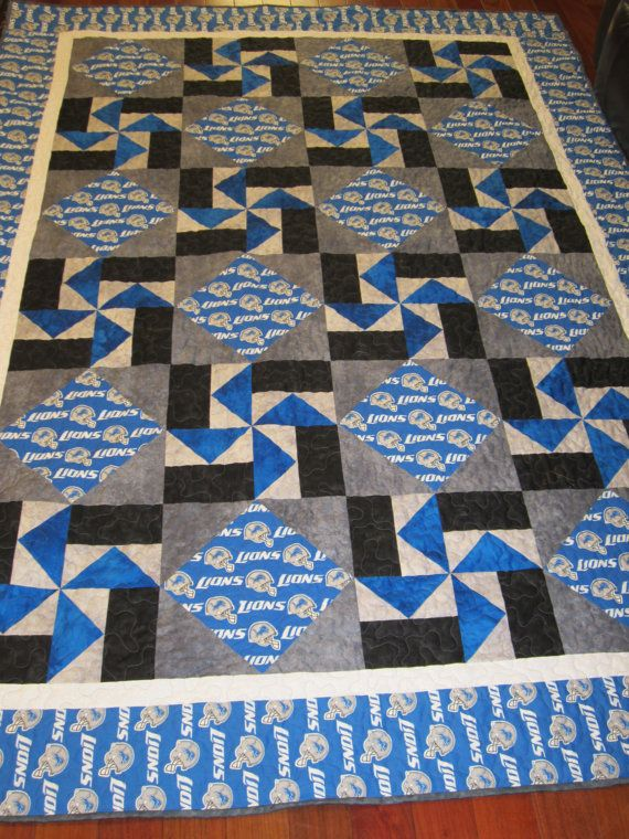 25 Best Ideas About Sports Quilts On Pinterest Blanket