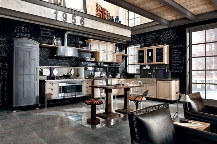 魅力廚房似工業感的Loft生活情境 > 廚房衛浴 > 空間改造 > DECO+家 – 華人首選 室內設計平台