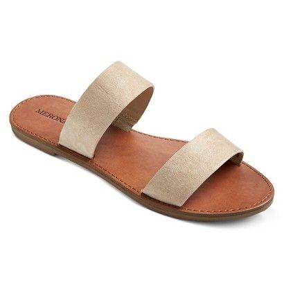 Women's Esther Slide Sandals - Merona™ - TAN