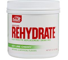 AdvoCare Rehydrate®  Helps the body stay hydrated during physical activity Fuels your body with sequential carbohydrates for energy production and sustained muscle endurance Helps prevent cramping during and after exercise