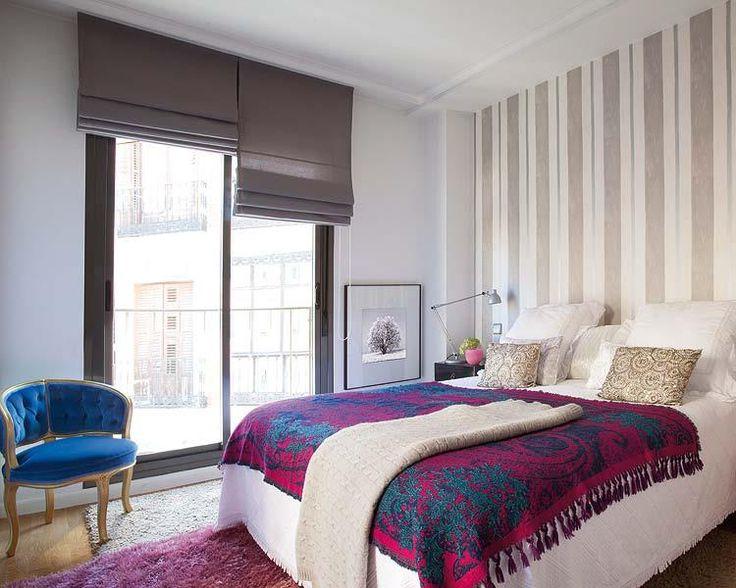 Persianas romana dormitorio pinterest html - Papel pintado dormitorio principal ...