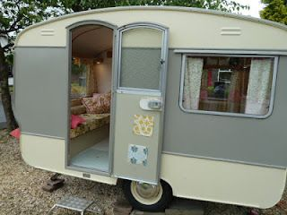 My blog is about my dream of finding a cheap caravan to do up in a vintage style. I aim to holiday in the caravan myself as well as hiring it out.