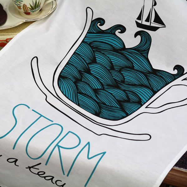 I'd forgotten how brilliant ToDryFor is. Beautiful and funny tea towels - yes, it's possible and genius!