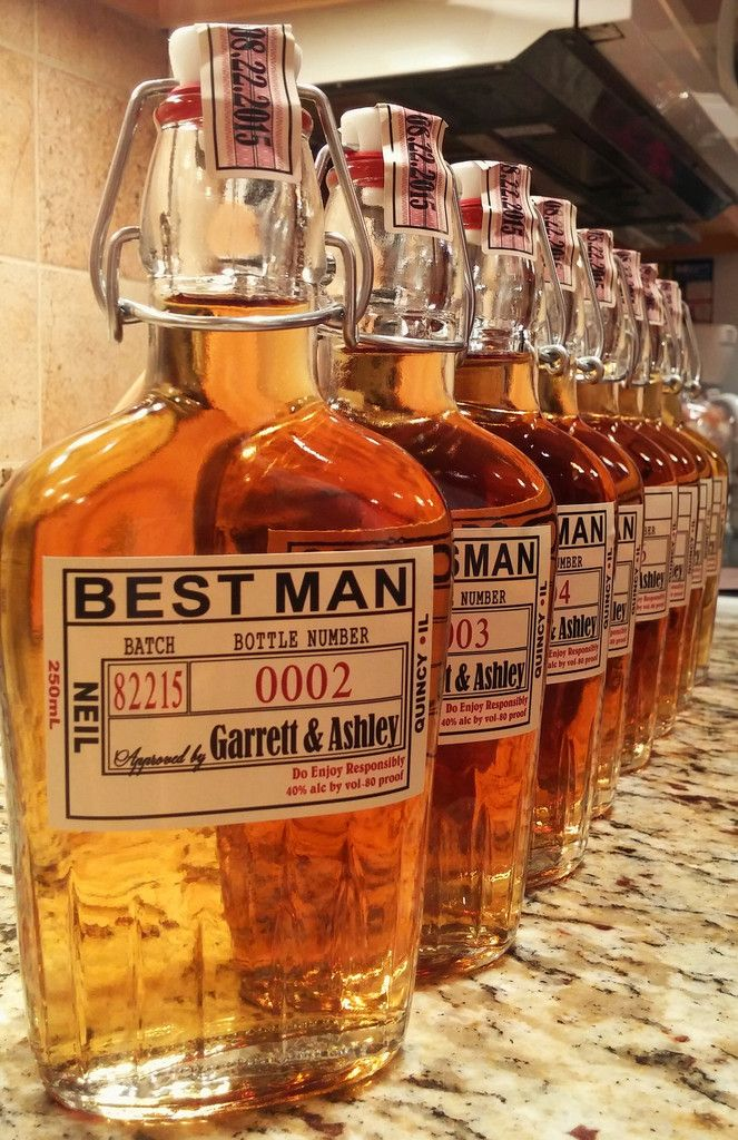 Groomsmen Gifts Grooms Labels Liquor Personalized Groomsman And Best Man Beer Label Custom
