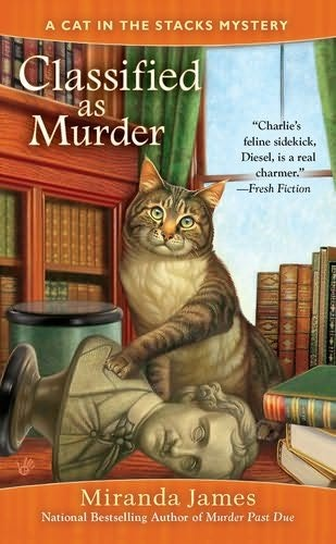 #2 in the Cat in the Stacks Mystery Series by Miranda James