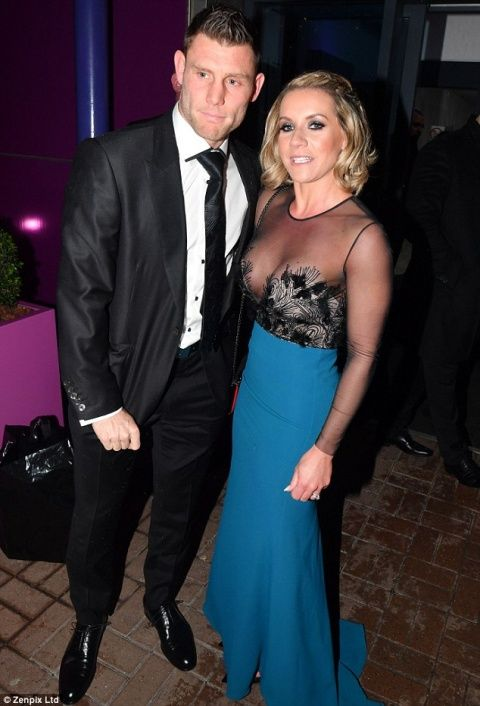 Liverpool stars and their WAGs attend the James Milner Foundations charity ball