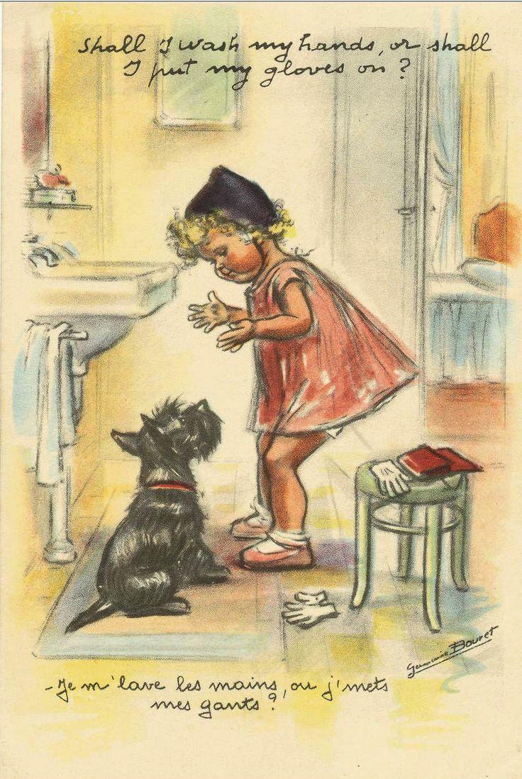 Germaine Bouret (Je m'lave les mains, ou j'mets mes gants ?)