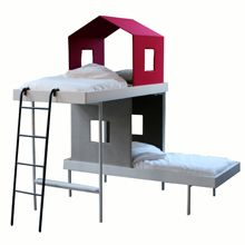 Finnish innovative design, AALTO + AALTO. Imagine how cosy and safe your kid would feel sleeping and dreaming in a bed like this.