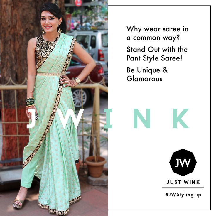 Just wink's mint green saree is such a fresh take on summer weddings :D