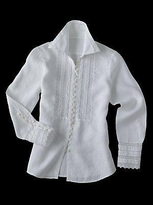 christa shirt - blouses & tops - women - Gorsuch