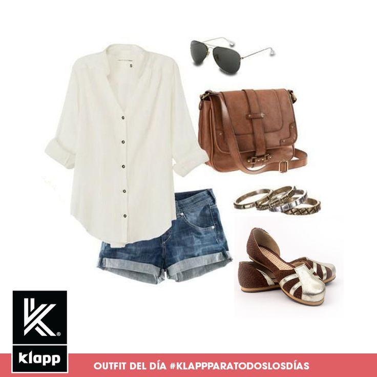 Que tal esta pinta fresca para esta tarde? #AmomisKlapp #outfitdeldia #meencantalamoda #mystyle #fashionpost