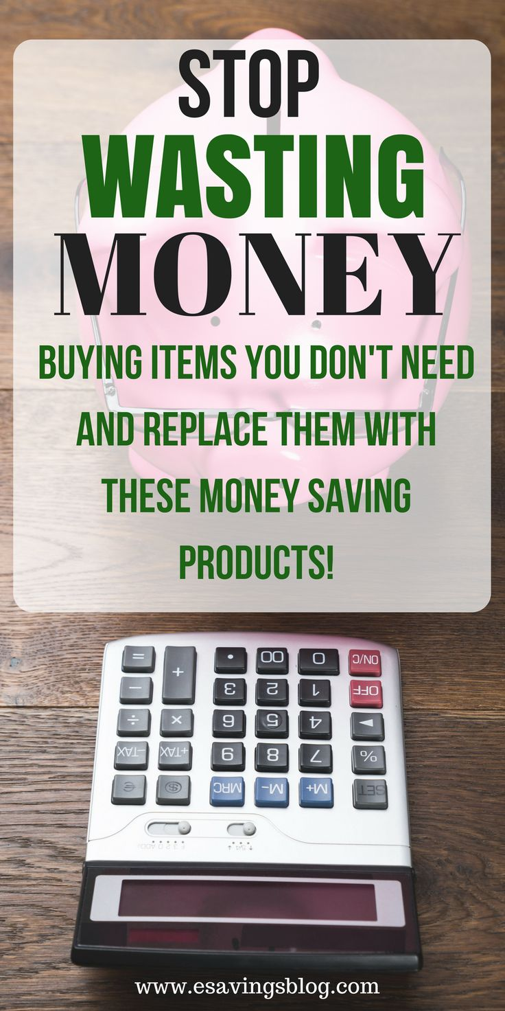 Are you wasting money buying products you don't need? Buy these money saving products instead! #budget #money #frugal #frugalliving