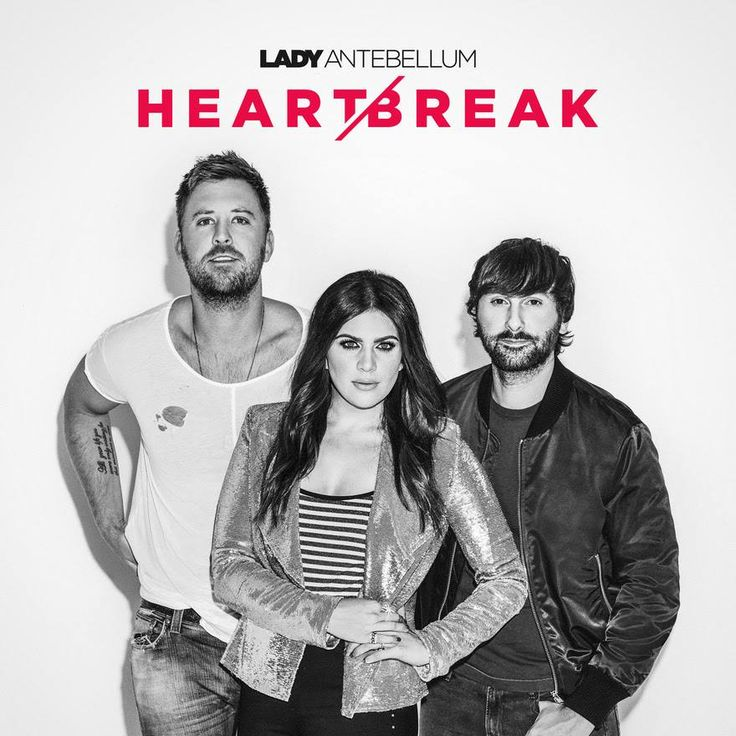 "JUST ANNOUNCED: Lady Antebellum's album ""Heart Break"" will release June 9!"