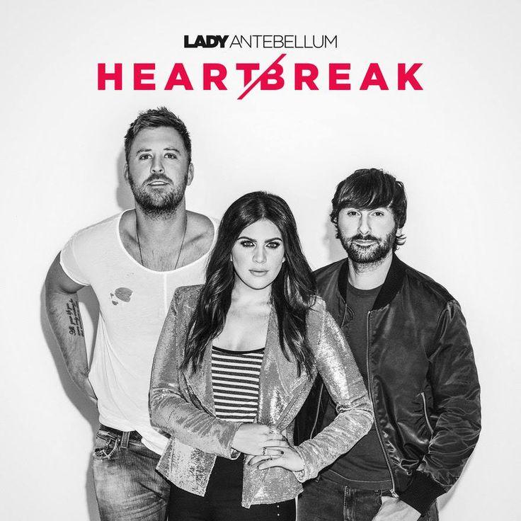 """JUST ANNOUNCED: Lady Antebellum's album """"Heart Break"""" will release June 9!"""
