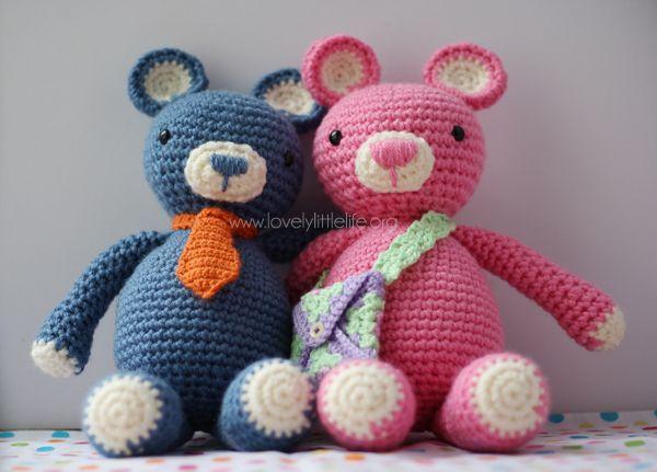 Easy Amigurumi Bear Pattern : 270 best crochet bears free pattern images on pinterest crochet