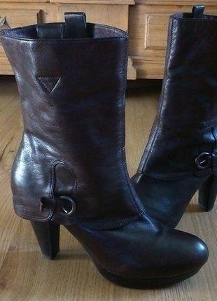 Kaufe meinen Artikel bei #Kleiderkreisel http://www.kleiderkreisel.de/damenschuhe/stiefeletten/141659023-bequeme-und-schicke-lederstiefeletten-von-biviel