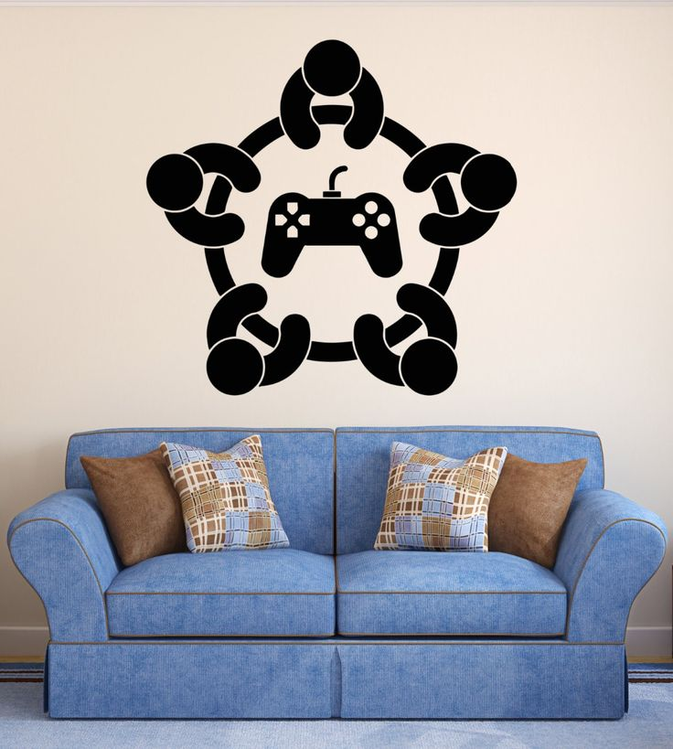 Cheap Kids Wall Decals, Buy Quality Wall Sticker Directly From China  Decorative Wall Stickers Suppliers: DIY Home Decoration Wall Stickers  Gaming Player ...