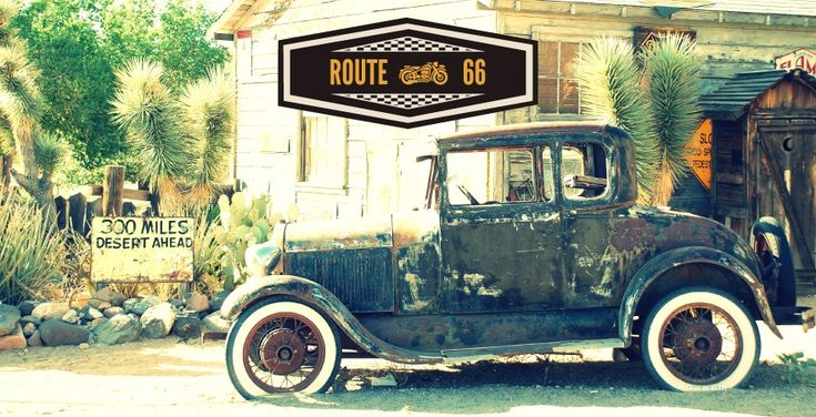 Un bout de route 66 - 4 coins du monde