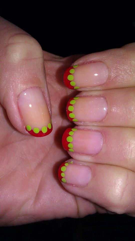 If the Whos down in Whoville had nails, I think this would be what they look like.  :)