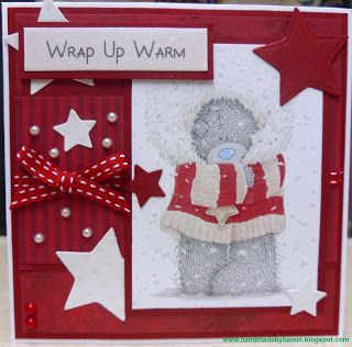 Tatty Teddy Christmas Card