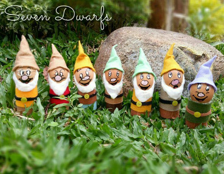Seven Dwarfs #eastereggideas
