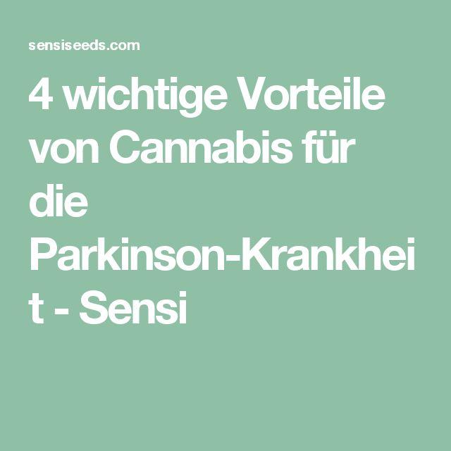 4 wichtige Vorteile von Cannabis für die Parkinson-Krankheit - Sensi