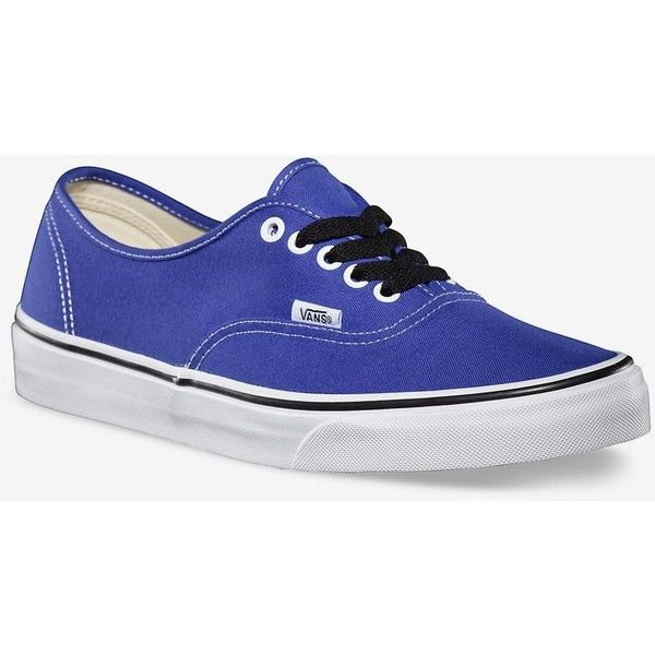 Womens Vans Authentic Trainers - Purple Spectrum (80 CAD) found on Polyvore featuring women's fashion, shoes, sneakers, vans, chaussure, purple spectrum, waffle trainer, vans footwear, vans shoes and vans trainers