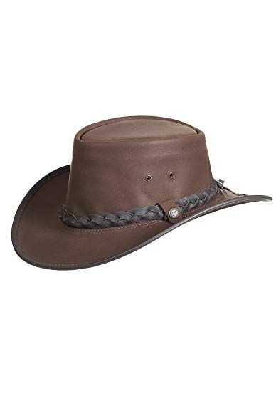 ba8bdf7069b Overland Sheepskin Co Traveler Crushable Leather Outback Hat Review ...