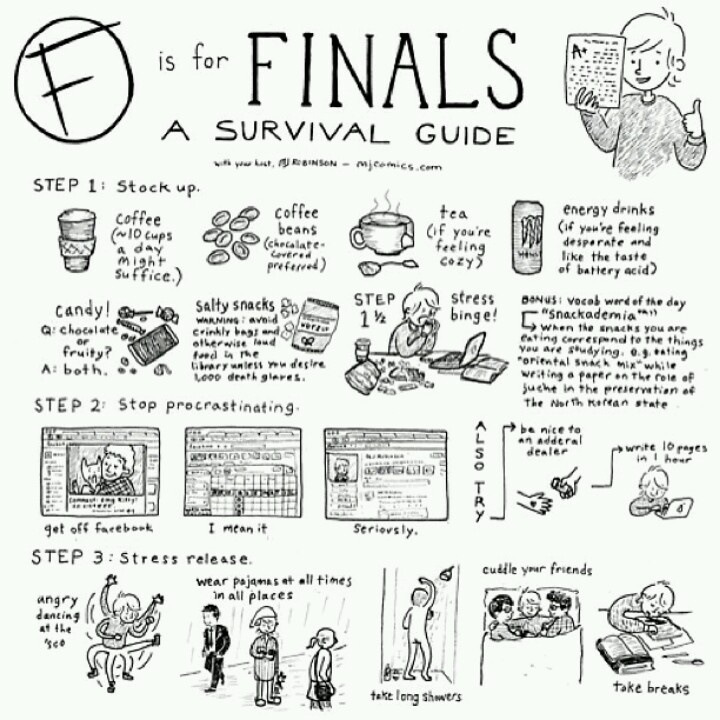 I need some good tips for finals!!?