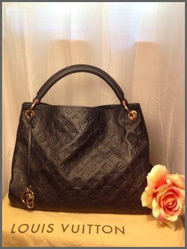 Louis Vuitton Artsy MM Blue Totes Sale For People In Cheap, Come To Buyone In Big Discount.