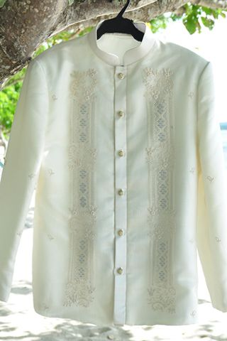 Agela & Mark: Groom's Barong - Wedding Photos | Wedding Gallery