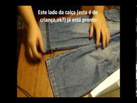 Dica de Costura - Como fazer a bainha de calça jeans